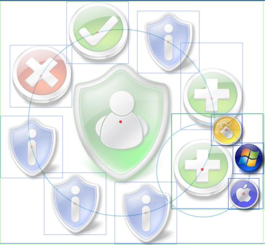 Screenshot of the MenuKiller Control in a debug version.